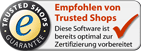 Trusted Shops empfohlen