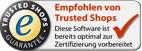 Trusted Shops empfohlen