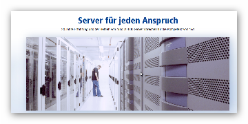Server für jeden Anspruch